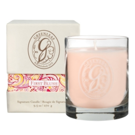 Greenleaf Signature Boxed Candle First Blush