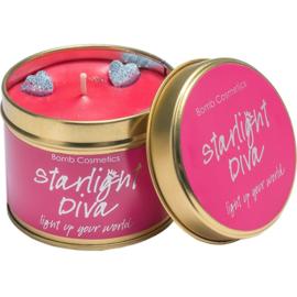 Bomb Cosmetics Tinned Candle Starlight Diva