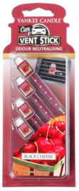 Yankee Candle Car Vent Sticks Black Cherry