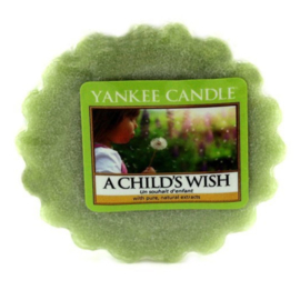 Yankee Candle Tart A Child's Wish