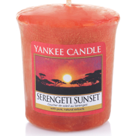 Yankee Candle Votive Serengeti Sunset