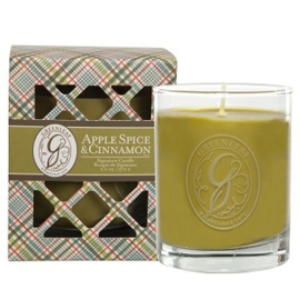 Greenleaf Signature Boxed Candle Apple Spice & Cinnamon
