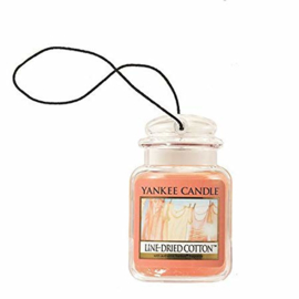 Yankee Candle Car Jar Line Dried Cotton