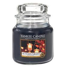 Yankee Candle Medium Jar Autumn Night