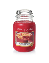 Yankee Candle Large Jar Rhubarb Crumble
