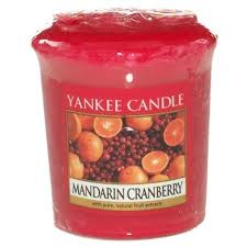 Yankee Candle Votive Mandarin Cranberry