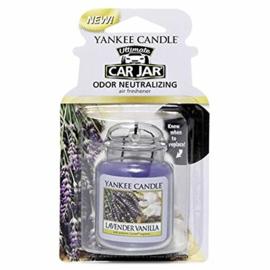 Yankee Candle Car Jar Lavender Vanilla