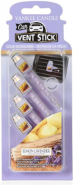 Yankee Candle Car Vent Sticks Lemon Lavender