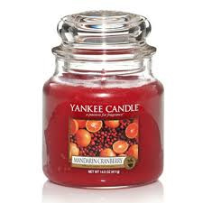 Yankee Candle Medium Jar Mandarin Cranberry