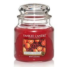 Yankee Candle Medium Jar Mandarin Cranberry