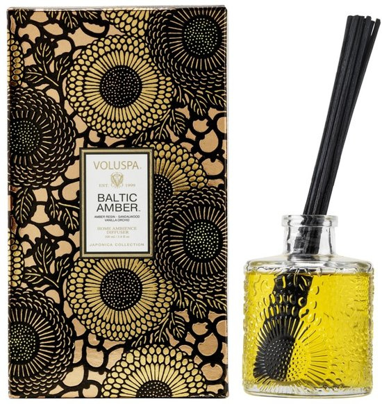Voluspa Japonica Collection Diffuser Baltic Amber 100 ml