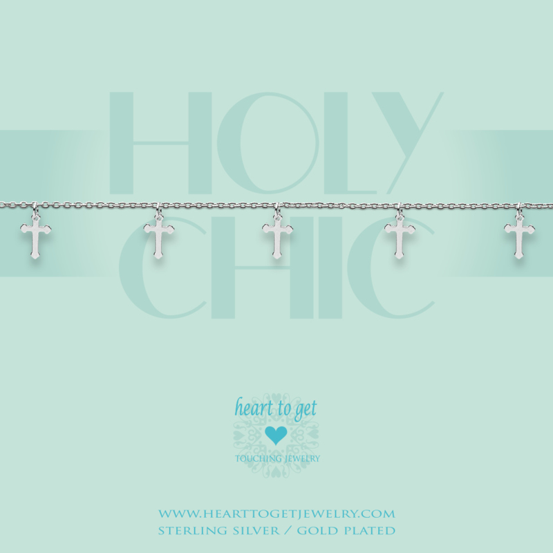 Heart to Get - Holy Chic - Armband - Zilver
