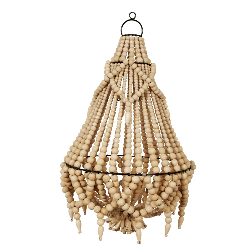 Pole to Pole - Kroonluchter Coffee Beads Naturel