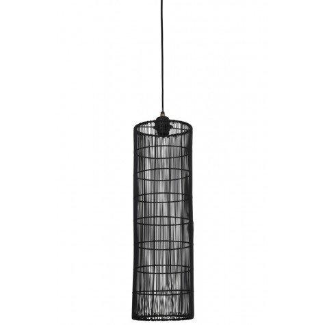 Light & Living - Hanglamp Sytha Mat Zwart