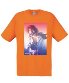 Bert Wabbe T-shirt extravagant oranje