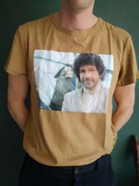 Bert Wabbe T-shirt zakelijk bruin