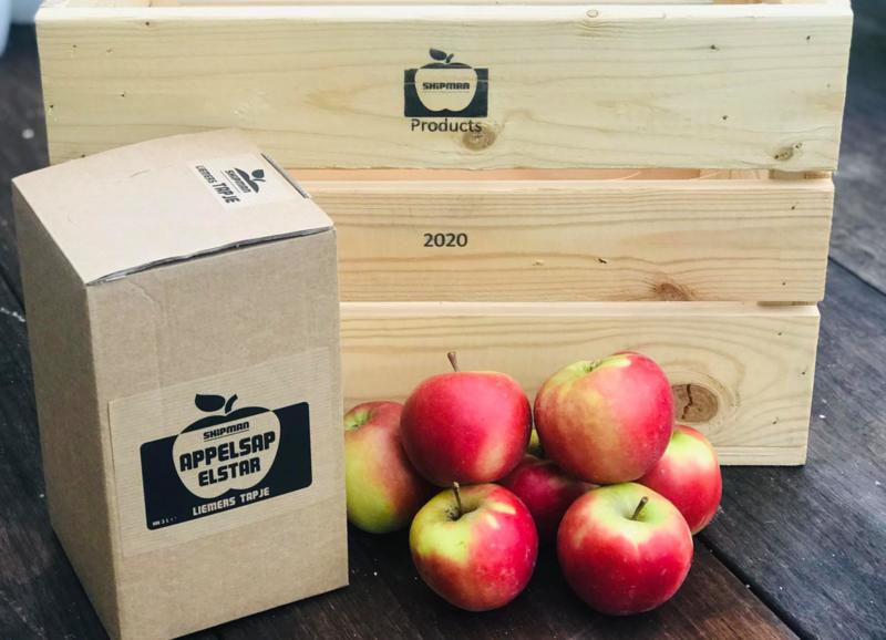 Liemerse tapje Elstar appel nieuwe oogst 2020