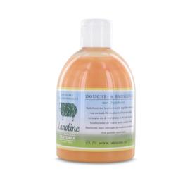 Texelana Bad- doucheschuim met lanoline en duindoorn, 250 ml
