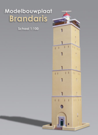 Modelbouwplaat Brandaris (38 cm. hoog) UITVERKOCHT!
