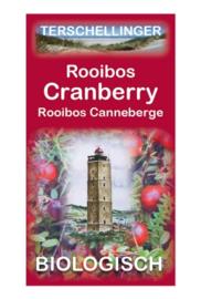 Terschellinger Cranberry rooibos thee