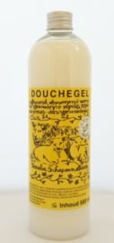 Texelse Schapenmelk bad/douchegel,  500 ml.