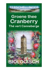 Terschellinger Groene thee met Cranberry