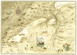 Wrakkenkaart Vlieland