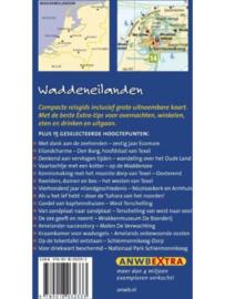 ANWB reisgids Waddeneilanden + kaart