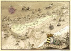 Wrakkenkaart Ameland