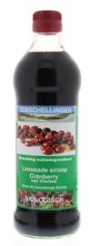 Terschellinger Cranberry-vlierbes siroop, 500 ml
