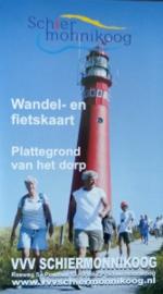 Fiets wandelkaart Schiermonnikoog