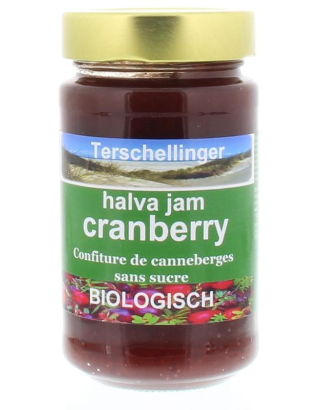 Terschellinger Cranberry halva jam, 250 gr.