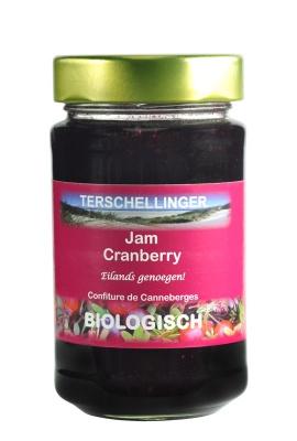 Terschellinger Cranberryjam, 250 gr.