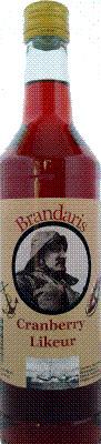 Terschellinger Cranberry likeur, 700 ml