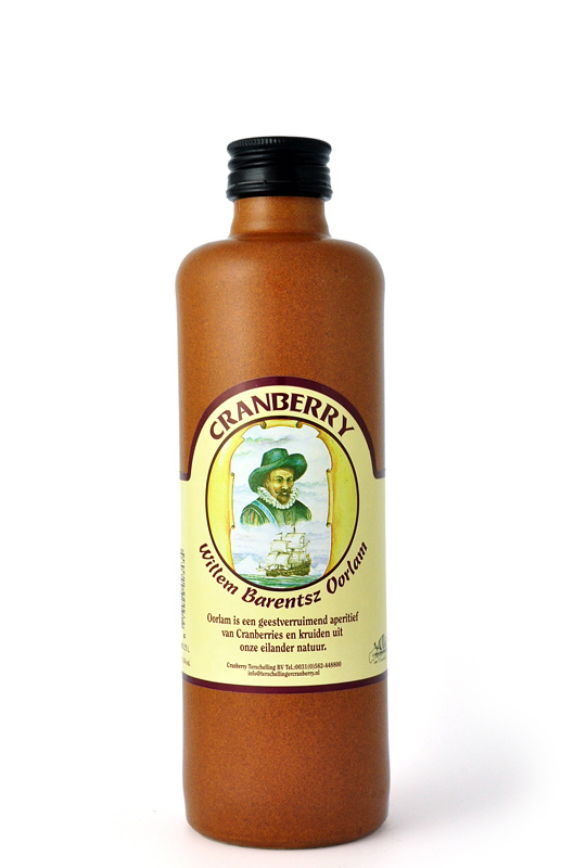 Terschellinger Cranberry Oorlam aperitief, 350 ml