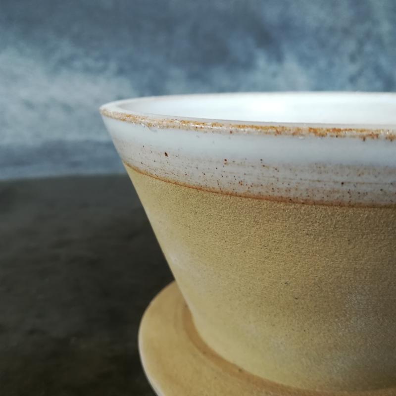Koffie opschenkfilter