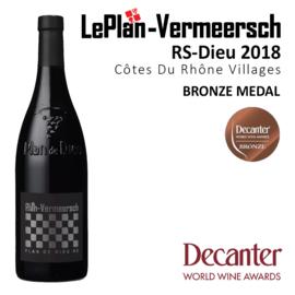 Plan de Dieu RS | Côtes du Rhône Villages 2019