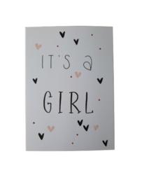 Kaart - It's a girl 2