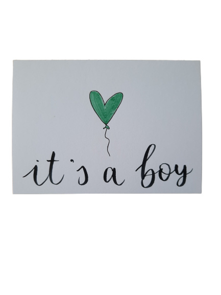 Kaart - It's a boy
