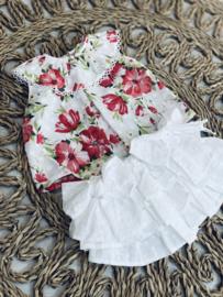 DBB   blouse met bloemen