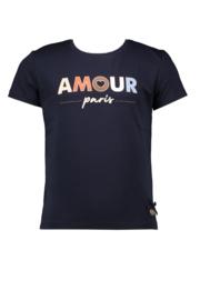 Le chic | navy tshirt amour paris