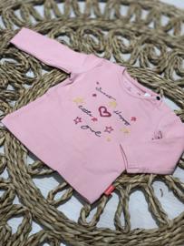 Bampidano baby | pink longsleeve - sweet happy little one
