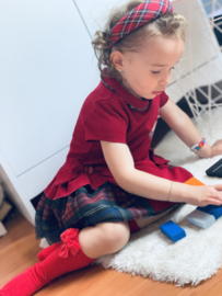 Lapin House | rode jurk - strikken