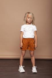 Le chic | caramel lightning shorts