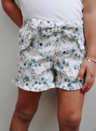 Petite zara | blue blossom short