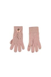 Le Chic | roze handschoenen met parels