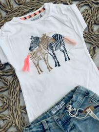 Dirkje | tshirt zebrapaardjes