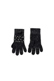 Le Chic | navy handschoenen met parels