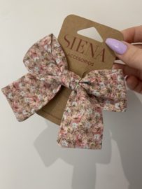 Siena | flower bow - Roze
