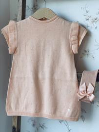 Wedoble | peach knit jurk